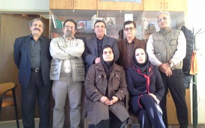 اعضای دوره ششم انجمن صنفی روزنامه نگاران استان اصفهان