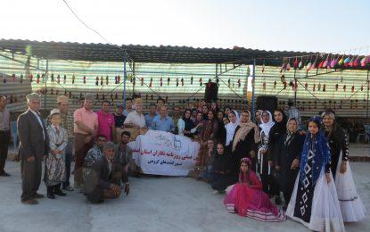 بازدید از کمپ قشقایی عشایر منطقه سمیرم و ابشار بی بی سیدان